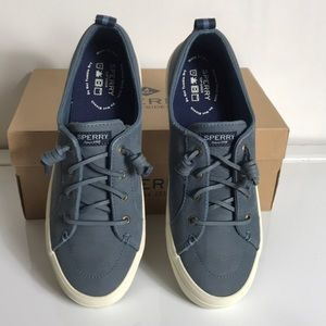 Sperry  Crest Vibe Leather Sneakers